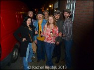 me with Rosco Levee & The Southern Slide